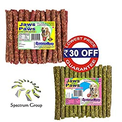 Spectrum Group An ISO 9001:2015 & HACCP Accredited Company - Money Saver Combo Pack Mutton + Natural Munchies 450 g / 40 sticks (2 Packs)