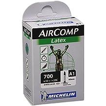 Michelin Shimano Cámara, 700 x 22-23c, de látex, válvula presta, 60 mm, Multicolor, M