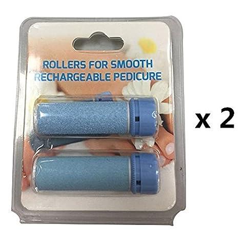 yivans électrique sec & Humide Pour Callosités Soin de Fu?–Imperméable, rechargeable, sans fil, Bleu