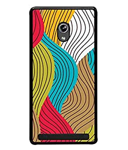 PrintVisa Designer Back Case Cover for Asus Zenfone 5 A501CG (Best pattern for Girls Multi colour ballon pattern Pink Lovers Designer Case Pretty pink strip Cell Cover Colourful design Smartphone Cover Perfect girly mobile Simple cute smart looking )