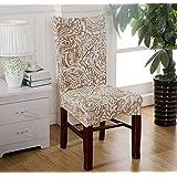 codinex (TM) caliente 2017marca ajustable elástico flor geométrica Impreso banquete de comedor silla asiento para el hogar Boda Plegable de Covering
