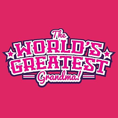 Borsa Tote The Worlds Greatest Grandma 42 x 38 cm in rosa Pink 2018 De Descuento Menos De 50 Dólares Compras En Línea De Alta Calidad gxyEglHJ14