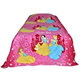 #9: Kids Baby Single Bed sheet with 1 Pillow Cover Barbie 100% Cotton Satin Weave Fast Color