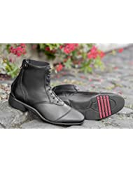 USG breathopren Galopp botas con cierre de cinta, tamaño XL, negro