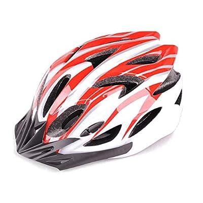 DAZISEN Adults Lightweight Cycle Helmet - Mens/Womens Outdoor Portable Mountain Bike Riding Skating Sports Allround Helmet 57cm-63cm from DAZISEN