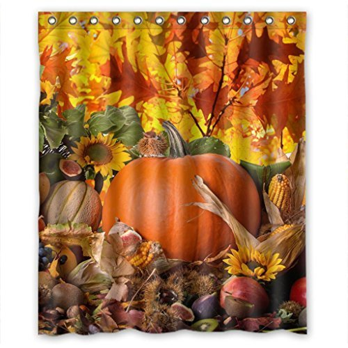fruit-harvest-celebration-high-quality-fabric-bathroom-shower-curtain-60-x-72-inches