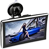 Ytesky Sat Nav GPS Car Navigation 7 Inch Large Display Portable with Preinstalled Maps of EU Main Countries (256MB+8GB
