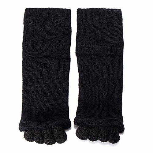 EoamIk Schöne Wahl Toe Separator Socken, 1 Paar Fünf Toe Separator Haarglätter Massage Socken Fußausrichtung Schmerzlinderung