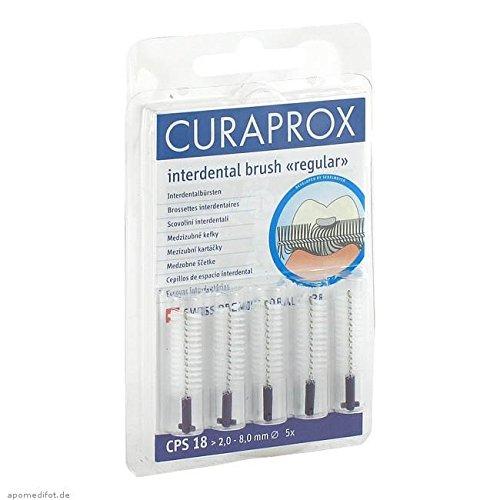 CURAPROX CPS 18 Interdental 2-8mm Durchmesser 5 St Zahnbürste