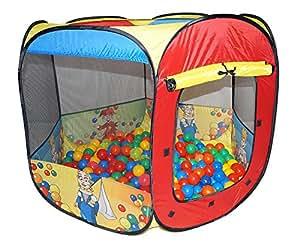 POP UP Ballpool Pool Bällepool Bällebad +200 Bälle Bällchenbad Z2