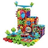 #9: Kids_Bazar Building Block Bricks Electric Gear 81 PCS Set