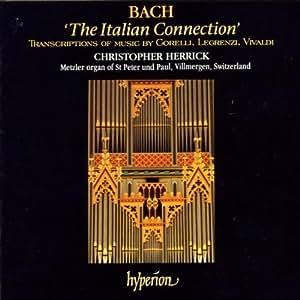 Corelli, Legrenzi, Vivaldi: Italian Connection, transcriptions for organ