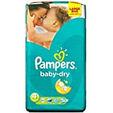 Pampers Baby Sec Taille 4 Maxi 7-18Kg (62)