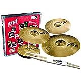 'Paiste PST 3Set 14/16/20Set de cymbales + 14Crash PST3keepdrum Baguettes gratuit