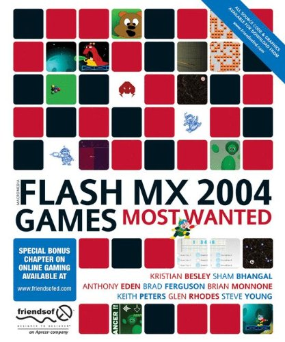Flash MX 2004 Games Most Wanted