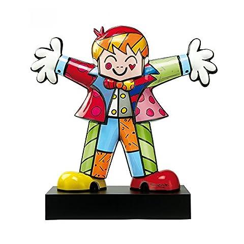 Clown En Porcelaine - Goebel Hug Too, Romero Britto, Statuette, Décoration,