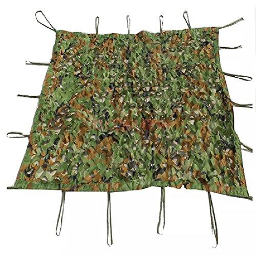 Schattierungs-Netz-Tarnungs-Oxford-Stoff-Sonnenschutz-Maschen-im Freien Verdecken Tätigkeits-Plan Anti-UV für Dschungel-Militär (Größe: 3 x 3m)