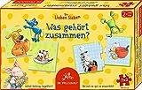 Spiegelburg 14162 Puzzle-Set Was gehört zusammen? Die Lieben Sieben (7x2 T.)