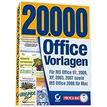 20.000 Office-Vorlagen