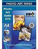 Photo Paper Direct A4-Foto-Kunst seidenglänzendes-Papier 270g Packung mit 25 Blatt