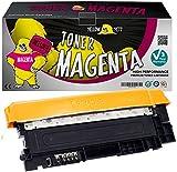 Yellow Yeti CLT-M406S (1000 Seiten) Magenta Premium Toner kompatibel für Samsung Xpress SL C410W C460FW C460W C467W CLP-360 CLP-365 CLP-365W CLX-3300 CLX-3305 CLX-3305FN CLX-3305W [3 Jahre Garantie]