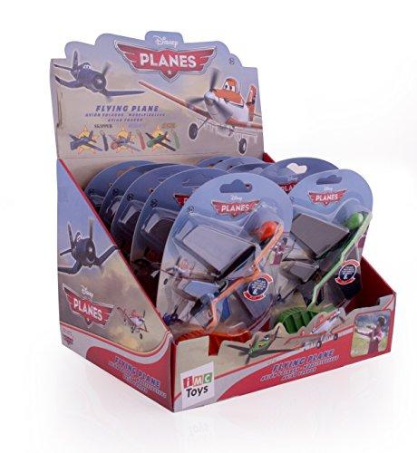 Disney Planes 625099PL Flieger ohne Batteriebetrieb, orange, grün, blau, gelb