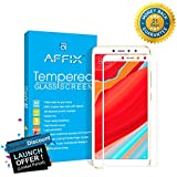 Affix Full Glue Xiaomi Redmi Y2 Full Coverage 9H Tempered Glass, Full Edge-to-Edge 5D Screen Protector - White [This Glass can not be Compatible with Back Cover]