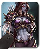 Sylvanas Windrunner Mousepad WOW - World of Warcraft Accessory ( F )
