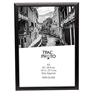 pawfa2bblk noir mat bois a2 42 x 59 4 cm certificat cadre photo affichage de poster avec non. Black Bedroom Furniture Sets. Home Design Ideas