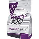 100% Whey Protein 900g 100% de concentré de protéine TREC Nutrition Chocolat - sésame