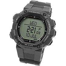 [LAD WEATHER] GPS Montre Altimètre Boussole numérique Navigation Cardio fréquence Sangle thoracique Sportif Montre pour Homme