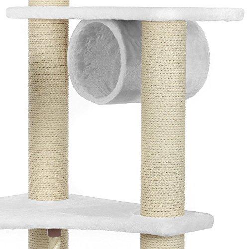 happypet kratzbaum cat022 weisshappypet kratzbaum cat022 weiss cat022 weiss b00dvfuaw4 mein. Black Bedroom Furniture Sets. Home Design Ideas