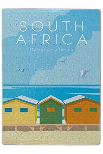 Preisvergleich Produktbild Puzzle Welt Reise Südafrika bedruckt 120 Teile