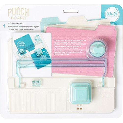 We R Memory Keepers Tab Punch Board-8.51
