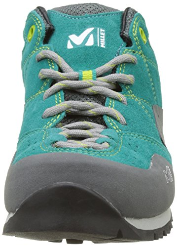 MILLET Ld Rockway, Scarpe da Arrampicata Basse Donna Multicolore (Vert Dynasty Green/asphalte)