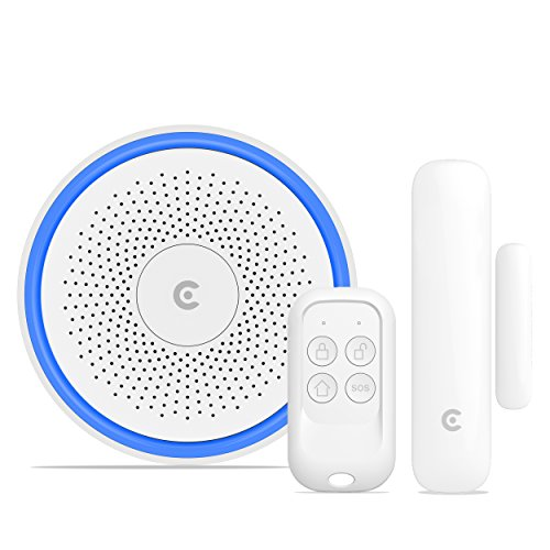 CLARER ® C3 Wireless Smart Home Alarm System (Gateway + Sensor + Fernbedienung) Wireless-home-alarm-system