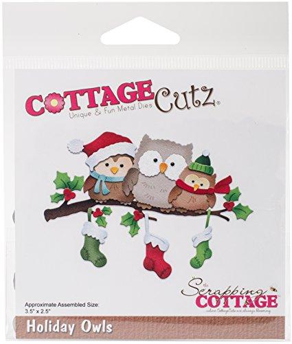 Cottage Cutz cc-339Dies-Holiday Eulen - Cottage Cutz