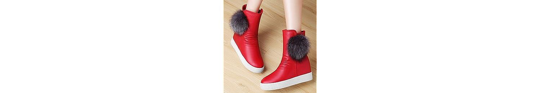 NSXZ Las nuevas botas de Europa y América botas para la nieve de invierno en el estudiante más altos zapatos de... -