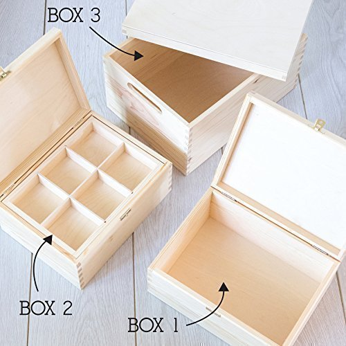 Personalised Wedding Anniversary Gift Keepsake Box/Memory Box - 3 Wooden Boxes to Choose From! / Personalised Valentines gift
