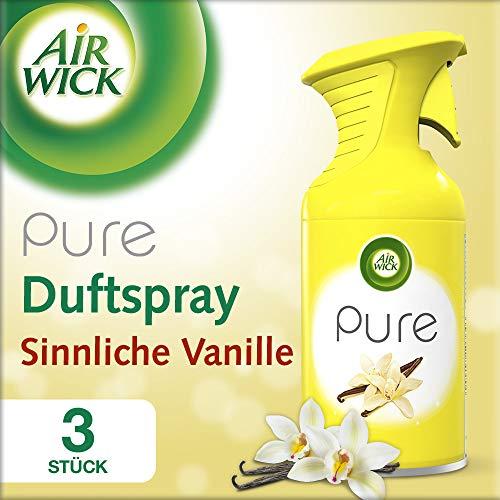 Air Wick Premium-Duftspray PURE Sinnliche Vanille, 3er Pack (3 x 250 ml)