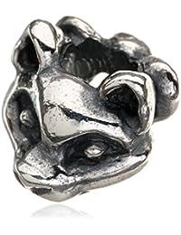 Trollbeads Women's Bead Proud Cat 925Sterling Silver–1Tagbe 20061