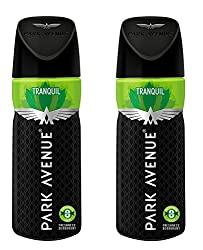 Park Avenue Mens Classic Deo Tranquil ,100gm (Pack of 2)
