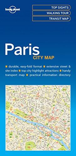 Lonely Planet Paris City Map por Lonely Planet