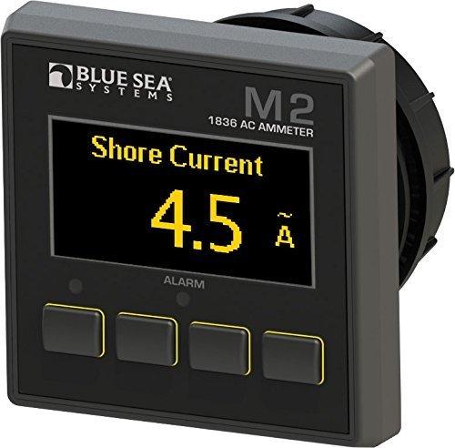 Blue Sea Systems M2OLED AC AMPERAGE Meter by Blue Sea Systems-Sports Blue Sea Meter