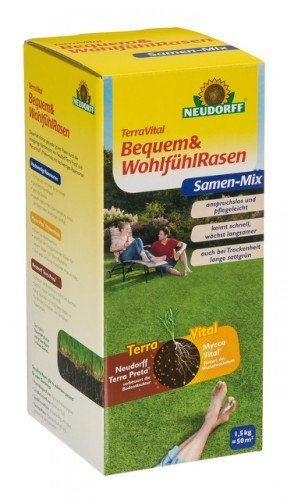 NEUDORFF - TerraVital Bequem & Wohlfühl Rasen - 1,5 kg