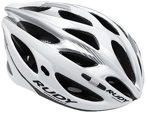 Rudy Project Zumax Casco, White/Silver Shiny, S/M