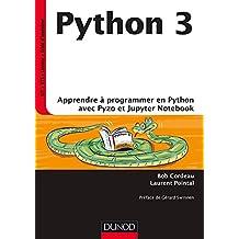 Python 3 - Apprendre à programmer en Python avec PyZo et Jupyter Notebook