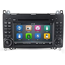 GPS DVD USB SD Bluetooth Radio 2Din navegador Mercedes Sprinter/Vito W639/Viano/B200/B150/B170/A180/A150/Clase B W245/Clase A W169/VW Crafter/VW LT3
