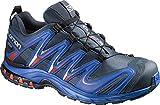 Salomon Men's Hike Light Crew Trail Running Shoes, Black