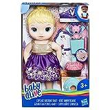 Hasbro Baby Alive e0596es1Compleanno Divertimento del Bambino, Bambola